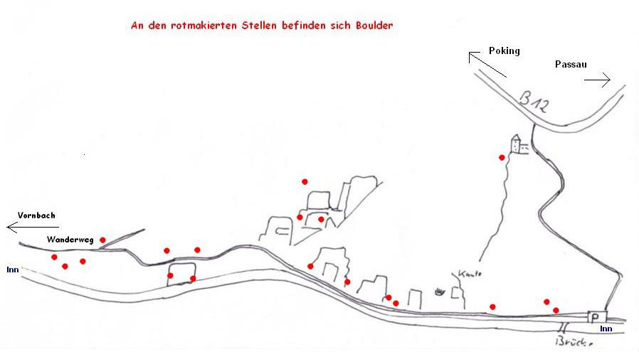 Bouldern Inntalklettergarten Passau